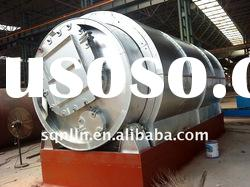 highest configuration waste tyre and plastic pyrolysis plant