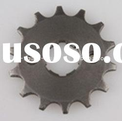 110cc dirt bike engine parts,sprocket ,motorcycle engine parts