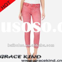 2011 Fashion Skinny Women Colored Jeans Pants,Brand Jeans for Women(GKMJ022201)