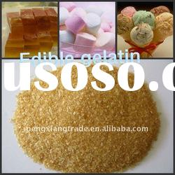 2012 hot sell food grade sugar free gelatin