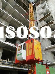 2t&1t construction elevator/building hoist/material lifter