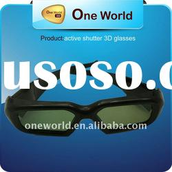 3D HD TV Active Shutter IR Rechargeable Glasses Wireless for Sony Panasonic Samsung
