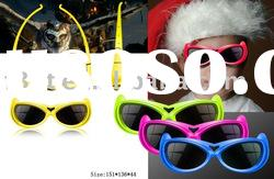 3D active shutter glasses for children