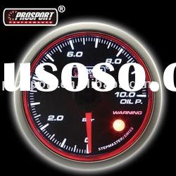 52mm Oil Pressure Auto Gauge With Halo Ring (Auto Meter)