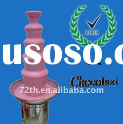 5 layers high-grade stainless steel commercial chocolate fountain