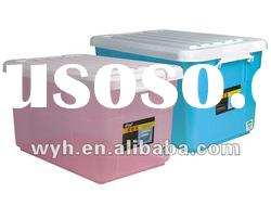 64L heavy duty plastic storage box