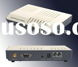 GSM Fixed Wireless terminal with PSTN port