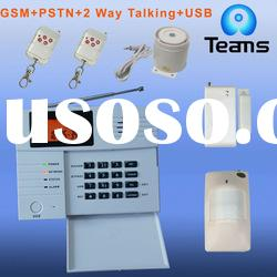 GSM&PSTN wireless alarm system compatible with ADEMCO