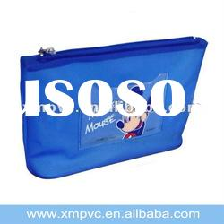 High quality clear plastic pencil case with zipper XYL-S216
