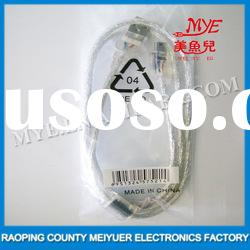 New Transparent USB 2.0 T type data line computer cable