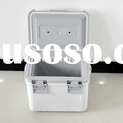 Small ice pack plastic cooler box