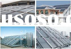 Solar Engergy Saving Project and separate pressurized solar collector with heat pipe