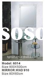 Standing Wash Basin with double glass shelf 6014