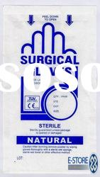 Steriled Disposable Nature latex surgical Gloves