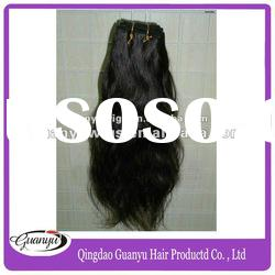Top quality natural color Brazilian hair Cheap remy hair