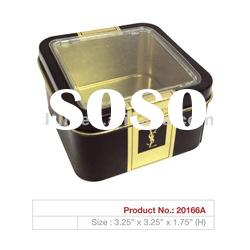 Window metal packaging tin boxes for promotion