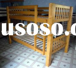 Wooden Bunk Bed/Bunk Bed/Bedroom Furniture/Pine Bed