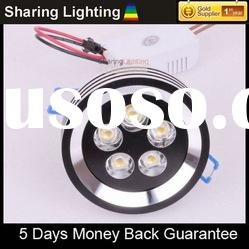 [Sharing Lighting]New arrival led spotlight,5W led ceiling light,led downlights with driver