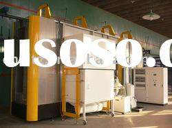 automatic spray paint booth of powder coating production line