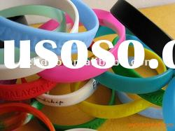 best promotion gift silicone bracelet for los angeles
