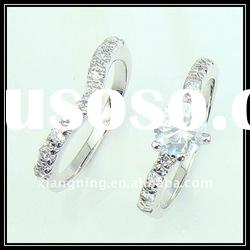 fashion 925 sterling silver engagement ring jewelry