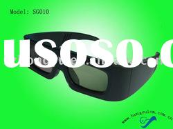 high quality cheap active shutter 3D glasses(SG0010)