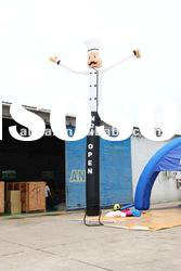 inflatable chef air dancer(air dancer with blower,advertising,promotion)