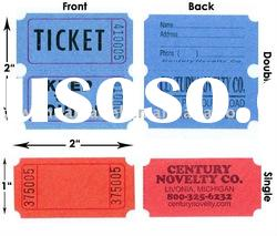 raffle ticket/coupon ticket roll paper