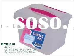 rectangle plastic storage box with lid