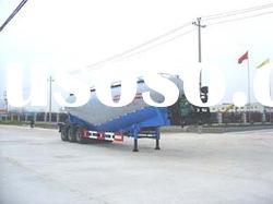 three axle bulk cement fly ash tank trailer Tom King:86-15271357675 manufacturer