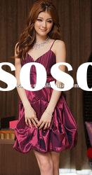 whole sale 2012 fashion women party dress with flower