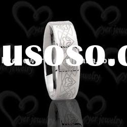 2011 Unique stylish tungsten wedding rings for men