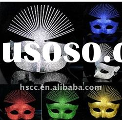 2011 new fashion design hot sell shiny party face mask