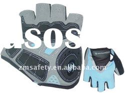 Gym Fingerless Synthetic Leather Sport Glove with Superior Grip ZM-J-02