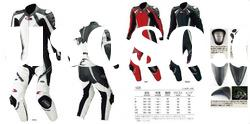 Racing Genuine leather jacket ,Leather Suit