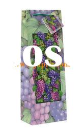 colorful grapes bag in box wine packaging