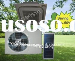 flat panel box solar air conditioners(cooling only)