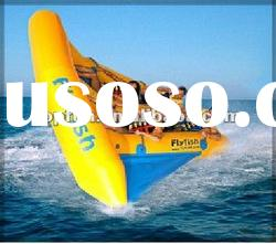 2012 exciting inflatable flying fish boat