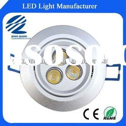 3w high power led recessed downlight