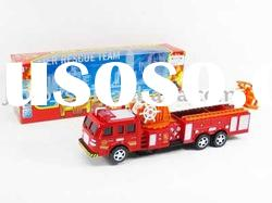 B/O Fire Enginem,electric fire engine,battery operated fire engine,plastic fire engine,B/O cars
