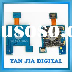 Mobile phone sim card flex cable for Samsung I8700