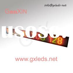 P7.62 red and green indoor high quality alibaba express bus led sign