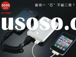 Universal 5000mAh Power bank, Mobile Power, Portable Battery for iphone