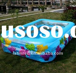 plastic inflatable family garden yard round swimming pool baby kids pool