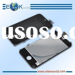 spare parts for iPhone 4, touch screen +LCD screen, full front assembly