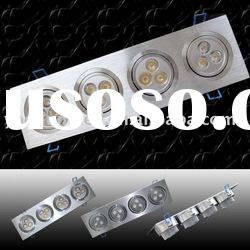 12W High Power Office LED Ceiling Light Fixture