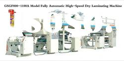 2011 New High-speed Fully Automatic plastic laminator