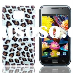 2012 Factory price hot saling Leopard Designed Plastic hard skin case for Samsung Galaxy S2 i9100