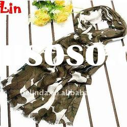 2012 Fashion lady printed cotton autumn scarf