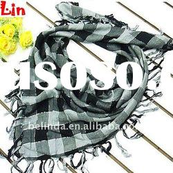 2012 Fashion lady square cotton scarf